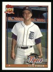 1991 Topps #183  Clay Parker  Front Thumbnail