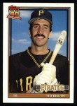 1991 Topps #354  Sid Bream  Front Thumbnail