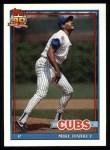 1991 Topps #376  Mike Harkey  Front Thumbnail