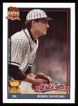 1991 Topps #461  Robin Ventura  Front Thumbnail