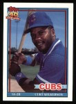 1991 Topps #142  Curt Wilkerson  Front Thumbnail