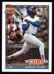 1991 Topps #714  Marvell Wynne  Front Thumbnail