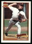 1991 Topps #749  Greg W. Harris  Front Thumbnail