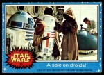 1977 Topps Star Wars #13   A sale on droids! Front Thumbnail