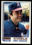 1982 Topps #94  Andy Hassler  Front Thumbnail