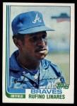 1982 Topps #244  Rufino Linares  Front Thumbnail