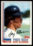 1982 Topps #686  Gary Allenson  Front Thumbnail