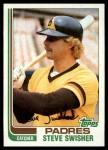 1982 Topps #764  Steve Swisher  Front Thumbnail