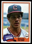 1981 Topps #141  Miguel Dilone  Front Thumbnail