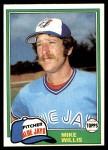 1981 Topps #324  Mike Willis  Front Thumbnail