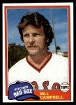 1981 Topps #396  Bill Campbell  Front Thumbnail