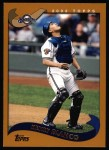 2002 Topps #593  Henry Blanco  Front Thumbnail