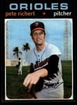 1971 Topps #273  Pete Richert  Front Thumbnail