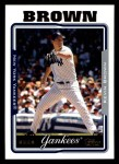 2005 Topps #547  Kevin Brown  Front Thumbnail