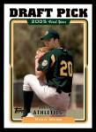 2005 Topps #671   -  Ryan Webb First Year Front Thumbnail