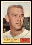 1961 Topps #22  Clem Labine  Front Thumbnail