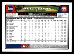2008 Topps #77  Angel Guzman  Back Thumbnail