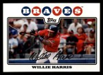 2008 Topps #143  Willie Harris  Front Thumbnail