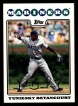 2008 Topps #474  Yuniesky Betancourt  Front Thumbnail
