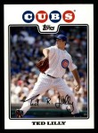 2008 Topps #609  Ted Lilly  Front Thumbnail