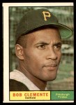 1961 Topps #388  Roberto Clemente  Front Thumbnail