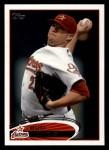 2012 Topps #246  Bud Norris  Front Thumbnail