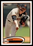 2012 Topps #349  Tim Lincecum  Front Thumbnail