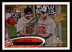2012 Topps #53   St. Louis Cardinals World Series Front Thumbnail