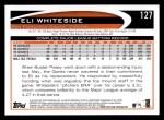 2012 Topps #127  Eli Whiteside  Back Thumbnail