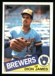 1985 Topps #228  Dion James  Front Thumbnail