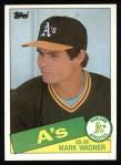 1985 Topps #581  Mark Wagner  Front Thumbnail