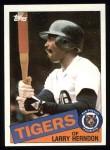 1985 Topps #591  Larry Herndon  Front Thumbnail