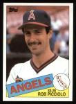 1985 Topps #756  Rob Picciolo  Front Thumbnail