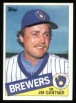 1985 Topps #781  Jim Gantner  Front Thumbnail