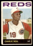 1964 Topps #436  Charlie Neal  Front Thumbnail