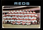 1971 Topps #357   Reds Team Front Thumbnail