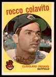 1959 Topps #420  Rocky Colavito  Front Thumbnail