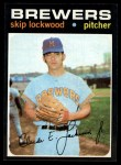 1971 Topps #433  Skip Lockwood  Front Thumbnail
