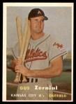 1957 Topps #253  Gus Zernial  Front Thumbnail