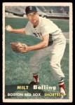 1957 Topps #131  Milt Bolling  Front Thumbnail