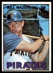 1967 Topps #510  Bill Mazeroski  Front Thumbnail