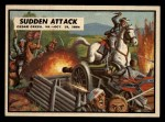 1962 Topps Civil War News #78   Sudden Attack Front Thumbnail