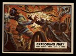 1962 Topps Civil War News #5   Exploding Fury Front Thumbnail