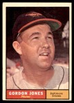 1961 Topps #442  Gordon Jones  Front Thumbnail