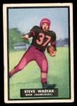 1951 Topps Magic #36  Steve Wadiak  Front Thumbnail