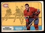 1968 O-Pee-Chee #64  Mickey Redmond  Front Thumbnail