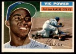 1956 Topps #67  Vic Power  Front Thumbnail