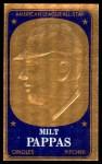 1965 Topps Embossed #20   Milt Pappas   Front Thumbnail