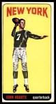 1965 Topps #117  John Huarte  Front Thumbnail