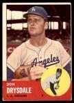 1963 Topps #360  Don Drysdale  Front Thumbnail